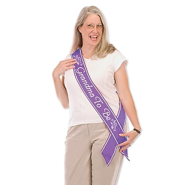 Grandma To Be Satin Sash, 33