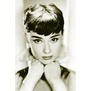 "Pyramid America™ ""Audrey Hepburn Sepia"" Poster"
