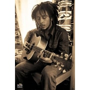 """Pyramid America™ """"Bob Marley - Sepia"""" Poster"""