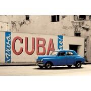"""Ace Framing """"Viva Cuba"""" Framed Poster, 24"""" x 36"""""""