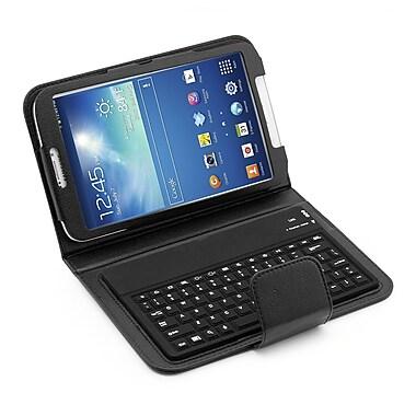 Mgear Accessories 935874 PU Leather Keyboard Folio Case for Samsung Galaxy Tab 3 Tablet, Black