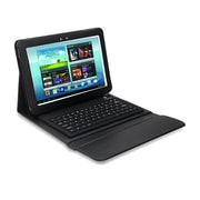 Mgear Accessories 93587497M PU leather Bluetooth Keyboard Folio Case for Samsung Galaxy Note Tablet, Black