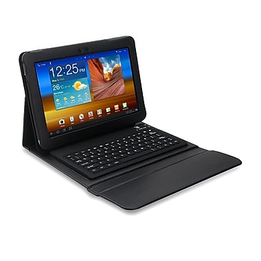 Mgear Accessories 93587654M PU leather Bluetooth Keyboard Folio Case for 10.1