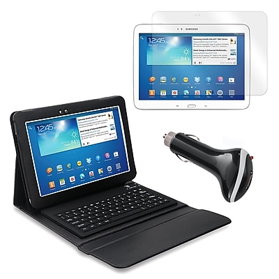 Mgear Accessories 93587838M PU Leather Keyboard Folio Case for 10.1