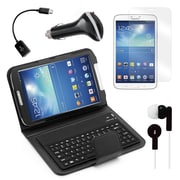 "Mgear Accessories Samsung Galaxy Tab 3 Bluetooth Keyboard Folio with Earphones, 8"" Tablet"