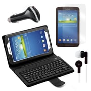 """Mgear Accessories Samsung Galaxy Tab 3 Earphones, Screen Protector and Car Charger 7"""" Tablet"""