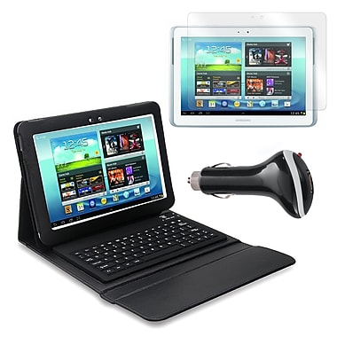 Mgear Accessories Bluetooth Keyboard Folio, Screen Protector & More Samsung Galaxy Note