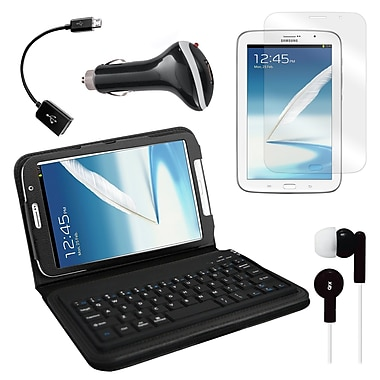 Mgear Accessories Samsung Galaxy Note Bluetooth Keyboard Folio with Earphones & more, 8