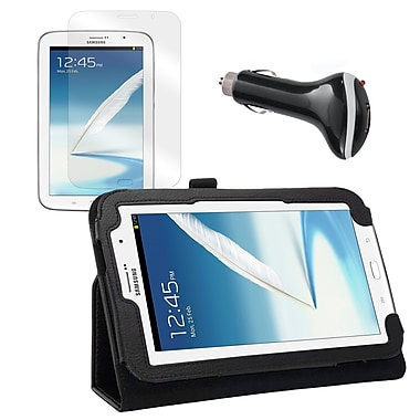 Mgear Accessories Folio Case with Screen Protector & Car Charger, Samsung Galaxy Note 8
