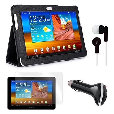 Mgear Accessories Samsung Galaxy Tab Folio Case with Earphones, Screen Protector & Car Charger