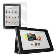 "Mgear Accessories 93587301M Synthetic Leather Double Fold Folio Case for 9"" Nook HD+ Tablet, Black"