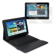 "Mgear Accessories 93587628M PU Leather Keyboard Folio Case for 10.1"" Samsung Galaxy Tab 2 Tablet, Black"