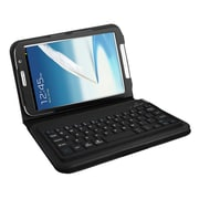 "Mgear Accessories 93587568M PU leather Bluetooth Keyboard Folio Case for 8"" Samsung Galaxy Note Tablet, Black"