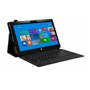 Mgear Accessories 93587697M Double Fold Folio Case for Microsoft Surface 2 Tablet, Black