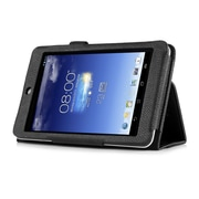 """Mgear Accessories 93586711M Synthetic Leather Double Fold Folio Case for 7"""" ASUS MeMO Pad HD 7 Tablet, Black"""