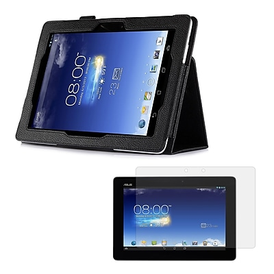 Mgear Accessories ASUS MeMO Pad FHD 10 ME302C Double-Fold Folio Case with Screen Protector