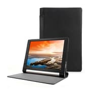 """Mgear Accessories 93586963M Synthetic PU Leather Folio Case for 8"""" Lenovo Yoga Tablet, Black"""
