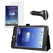 """Mgear Accessories Folio Case with Screen Protector & Car Charger for ASUS Memo Pad 8"""""""