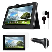 """Mgear Accessories 93587731M Synthetic Leather Folio Case for 10"""" Asus MeMO Pad Smart 10 Tablet, Black"""