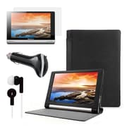 "Mgear Accessories 93587781M PU Leather Folio Case for 10"" Lenovo Yoga Tablet, Black"
