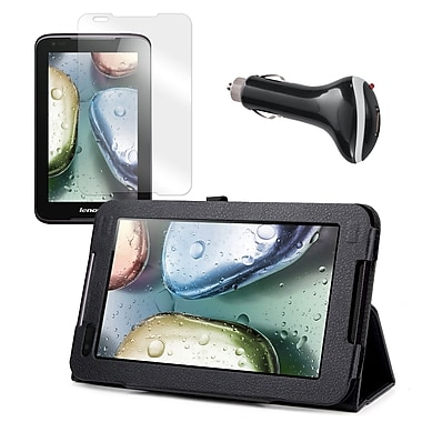 Mgear Accessories Lenovo IdeaTab A1000 Case with Screen Protector & Car Charger