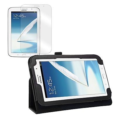 Mgear Accessories Samsung Galaxy Note 8.0 Double-Fold Folio Case with Screen Protector
