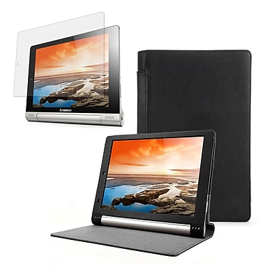 Mgear Accessories 93586966M PU leather Folio Case for Lenovo Yoga 8 (B6000) Tablet, Black