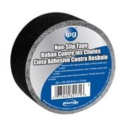 "Intertape® 2"" x 8' Non-Slip Tape, Black, 12 Roll"
