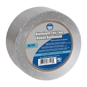 "Intertape® 4"" x 50 yds. 1.5 mil General Purpose Aluminum Foil Tape, Silver, 12 Roll"