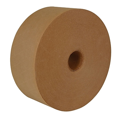 Intertape® 70mm x 137m Medallion Reinforced Water Activated Tape, Natural, 10 Roll