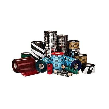 Zebra - Rubans de cire-résine 5555 pour imprimante GX420T/GX430T, 4,3 po x 242 pi, 12/boîte