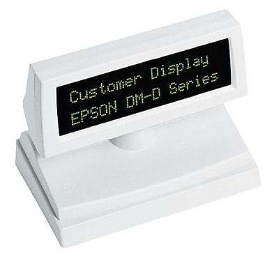 Epson® DM-D805 Pole Display With DM-D110 Customer Display