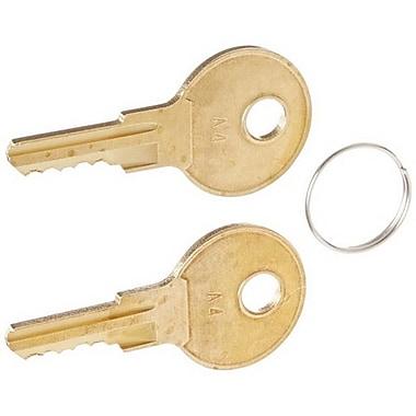 APG Cash Drawer® A4 Lock Replacement Key Set for Series 4000 Cash Drawer, 2/Pack (PK-8K-A4)
