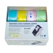 "Seiko 3.5"" Address Label, Assorted, 4 Rolls/Box"