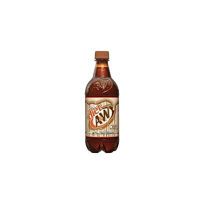 A&W Root Beer, Diet 20 Oz., 12/Pack