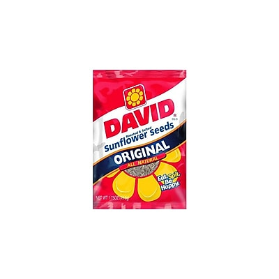 David Sunflower Seeds in Shel 48/Pack 1.75 Oz.
