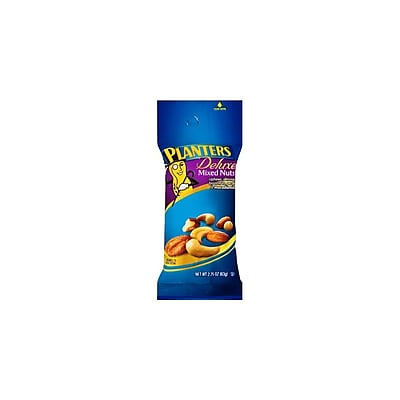 Planters Deluxe Mixed Nuts 2.25 Oz. 12/Pack