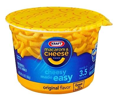Kraft Macaroni & Cheese Dinner Original 4.1 Oz., 12/Pack