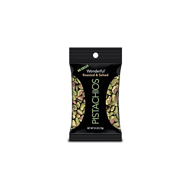 Wonderful Roasted and Salted 0.15 lbs. Pistachios, 8/Pack