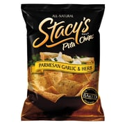 Stacy s Pita Chips, Parmesan Garlic & Herb 36/Pack 1.5 Oz.