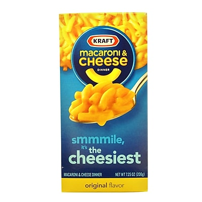 Kraft Macaroni & Cheese 7.25 Oz, 12/Pack