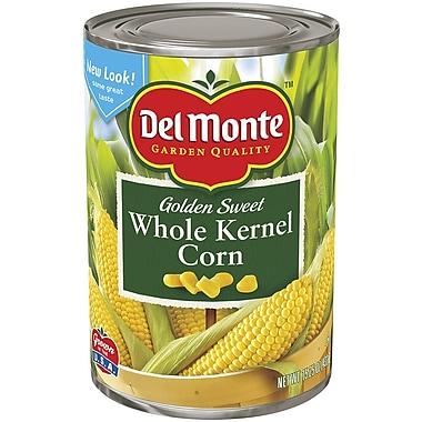 Del Monte Whole Kernel Gold Corn 15.25 Oz, 12/Pack