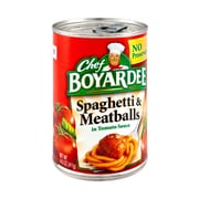 Chef Boyardee 14.5 Oz Spaghetti and Meatballs, 16/Pack