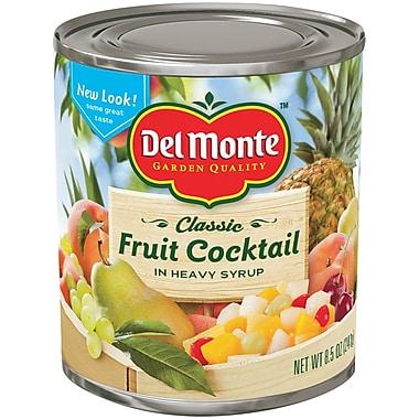 Del Monte Fruit Cocktail 8 Oz, 24/Pack