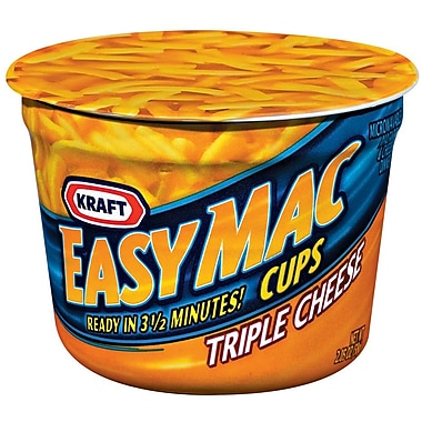 Kraft Cheesy Easy to Prepare 2.05 Oz Kraft Macaroni & Cheese, 24/Pack