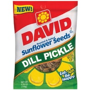 David Natural 12/Case 0.25 Sunflower Seed, 24/Pack