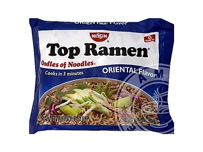 Top Ramen Oriental Noodle Soup, 64/Pack