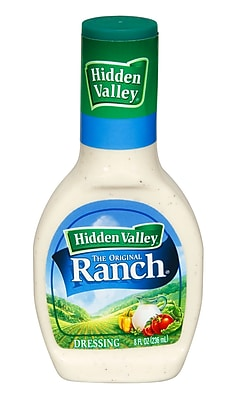 Hidden Valley Original Ranch Salad Dressing 16 Oz., 12/Pack