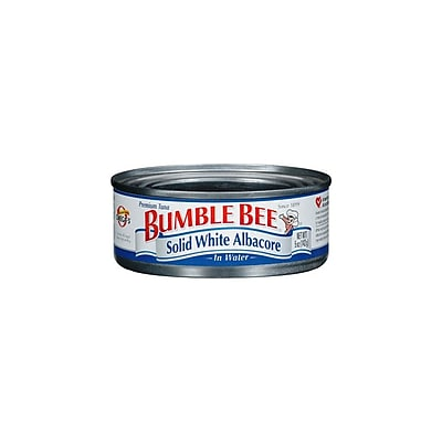 Bumble Bee Solid White Albacore Tuna in Water, 12/Pack