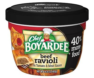 Chef Boyardee Beef Ravioli 14.25 Oz Microwavable Big Bowl Beef, 12/Pack 1057645